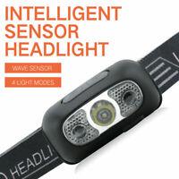 USB Rechargeable LED Headlamp Headlight Head Lamp Torch Flashlight Waterproof -