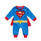 tout-petit garçon fille enfants bébé super héros Barboteuse Costume déguisement