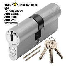 Anti Pick Euro Cylinder 1 STAR Barrel Door Lock 110mm Kitemarked 50x60 UPVC