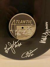 Autographed  ACDC BACK N BLACK VINYL ALBUM..BY 4...Angus Sketch..PSA