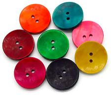 1x Stein Perle Karneol Achat 25x24mm Halbedelstein Edelstein Oval farbig