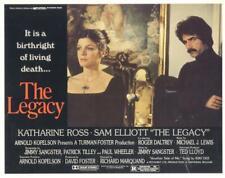 """THE LEGACY""-ORIGINAL LOBBY CARDS (4)-HORROR-KATHARINE ROSS-SAM ELLIOT"
