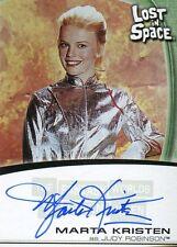Fantasy Worlds Lost In Space Autograph Card  A7  Marta Kristen  Judy Robinson