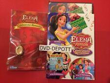 Elena of Avalor: Celebrations to Remember DVD & Slipcover & Free Elena Locket