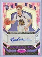 """2020-21 NICO MANNION PANINI CERTIFIED """"ROOKIE ROLL CALL"""" AUTO  #d/25 RC WARRIORS"""
