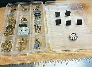 Vintage Boy / Girl Scout Pins ~ lot of 38