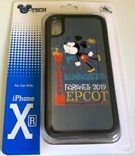 DISNEY PARKS EPCOT D-TECH ILLUMINATIONS FAREWELL 2019 MICKEY iPHONE XR CASE