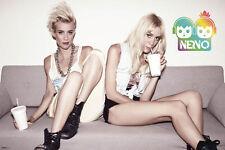 NERVO Duo - 2 Girls POSTER 61x91cm NEW * Miriam Olivia Australian DJ twins