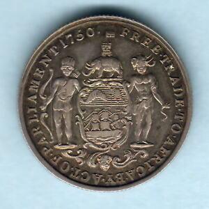 Gold Coast.  1818 George 111 - Half Ackey.. gEF - RARE