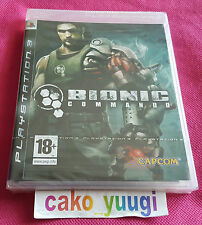 BIONIC COMMANDO  NEUF SOUS BLISTER SONY PS3 VERSION 100% FRANCAISE