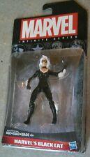 "Marvel's Black Cat Infinite Series 2014 3 3/4"" Hasbro MARVEL Black MOC Blackcat!"