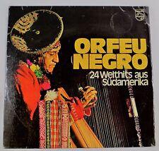 *-Vinyl-LP - ORFEO negro - 24 WELTHITS aus SÜDAMERIKA