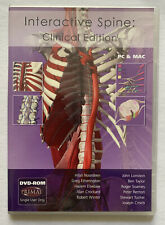 New listing Interactive Spine: Clinical Edition Dvd-Rom Primal Pc & Mac