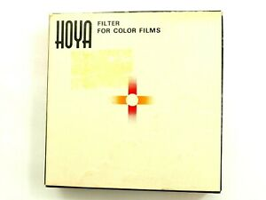 Hoya Filter For Color Films 43.5s Tan 81B New Box & Papers