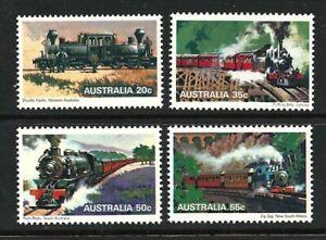 1979 Australia - Steam Locomotives (4) MUH