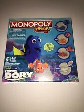 """Brand New- Monopoly Junior """"Exclusive"""" Finding Dory Limited Edition"""
