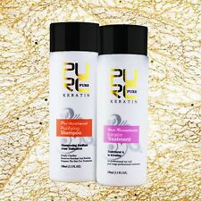 Brazilian Keratin Treatment+Purifying Shampoo Straightening Hair Repair Products