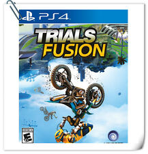 PS4 Trials Fusion SONY PlayStation Ubisoft Racing Games