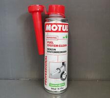 1x MOTUL combustible Sistema Limpiar Gasolina Limpiadores del de 300ml / ##