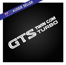 WHITE GTS Sticker Decal for R31 Skyline HR31 GTS GTS-X RB20 RB20DET