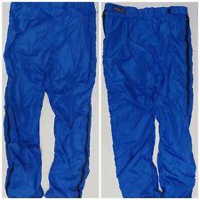 Vtg 80s 90s PATAGONIA Big Logo Fleece Insulated Pants Full Side Zip USA snow