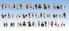Noch 18401 - Mega Economy Pack 60 x Pre-Painted Figures H0/00 Gauge - T48 Post