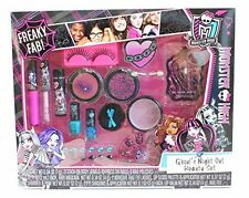 Monster High Ghoul's Night Out Girls Makeup/Beauty Kit 40pc Gift Set Face & Body
