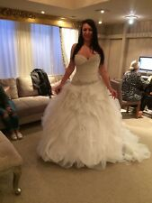 Ian Stuart - Practacan Wedding Dress - Ivory - UK Size 18 - Used