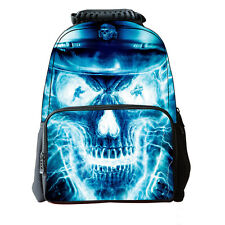 New 3D Skull School Bag Travel Hiking Outdoor Backpack Men Women Laptop Backpack