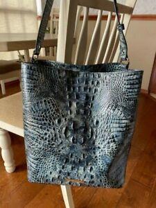 Gorgeous Brahmin Large Amelia Glacier Leather - EUC! $345
