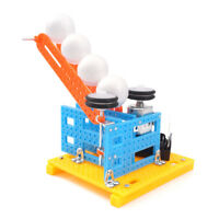 Automatic Serve Ball Robot DIY Kit Science Puzzle Toy School Educational Model