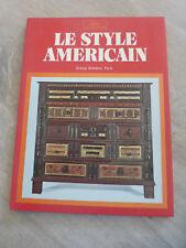 ancien livre le style americain Grange Bateliere Paris Alpha decoration vintage