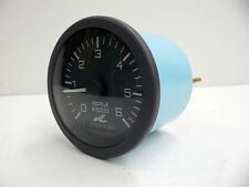NEW SEARAY GAUGE 751479 TACHOMETER HOUR METER 6K STD IGNITION LEGEND 3 INCH