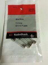 10Amps 32Volts Slow-Blow Fuse  (4-Pack) #270-0131