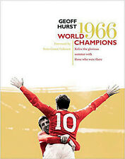 World Champions 1966 - Geoff Hurst - England FIFA World Cup Photographs book