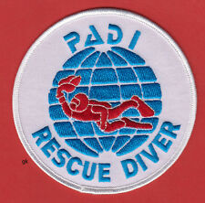 PADI Rescue Diver Scuba Dive Patch 4