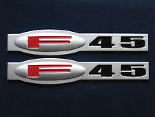 Chevrolet C5 Corvette F45 Suspension Fender Badge Pair (2 colors)