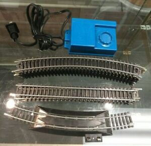 LOT OF 18 LIFE-LIKE HO SCALE STEEL TRACKS & 120V HOBBY TRANSFORMER