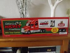 Coca Cola 2004 MICKEY 75 inspearations Tour Camion NEW IN BOX