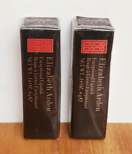 ELIZABETH ARDEN Exceptional Lipstick ~ Iced Coffee 77 ~ (2 Pack) New In Boxes!