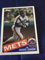 Howard Johnson New York Mets 1985 Topps Traded # 64T