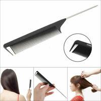 Noir Peigne Cheveux à Queue De Style Rat Longueur Dents Coiffure Coiffeur Salon