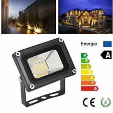 10W 12V Warm White LED Flood Light IP65 Aluminium Garden Yard Landscape Lamp