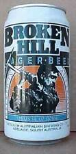 Broken Hill Lager Beer Can with Miner with Pick, Australia