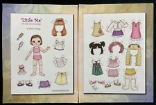 Little Me, Ball Jointed Doll Paper Doll by Diana Vining, Mag. PD. 2012