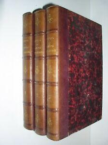 A. HUGO - FRANCE PITTORESQUE [3 VOL. - LIVRES RELIES - 1835]