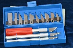 New Woodworking Craft  Chisel Set 16 piece incl 3 handles