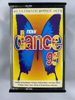Now Dance 95 Cassette Tape RARE