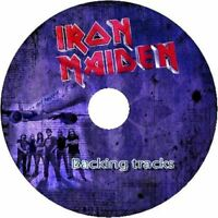 IRON MAIDEN GUITAR BACKING TRACKS CD BEST OF GREATEST HITS MUSIC PLAY ALONG MP3
