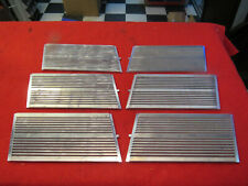 1937 Packard Super Eight hood grille inserts